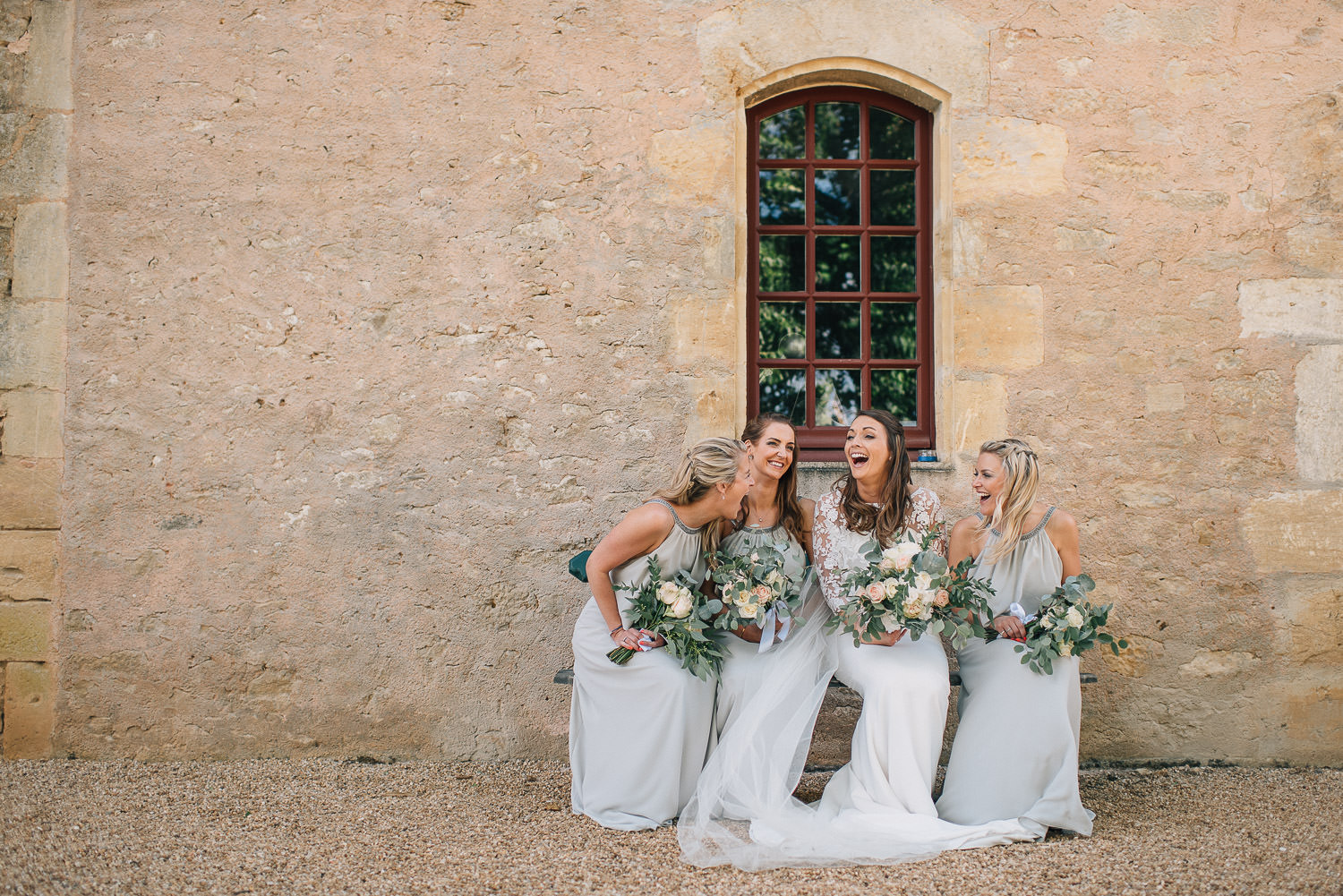 Ellerymay bridal flowers in chateau de la bourlie wedding by destination wedding photographer the shannons photography
