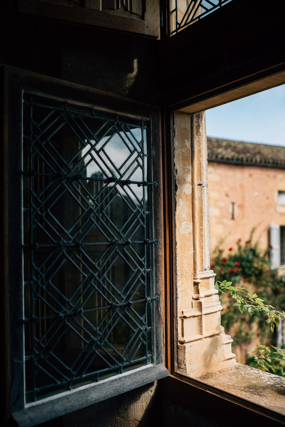 Wedding Chapel at Chateau de la Bourlie Wedding by creative and alternative destination wedding photographer the shannons photography