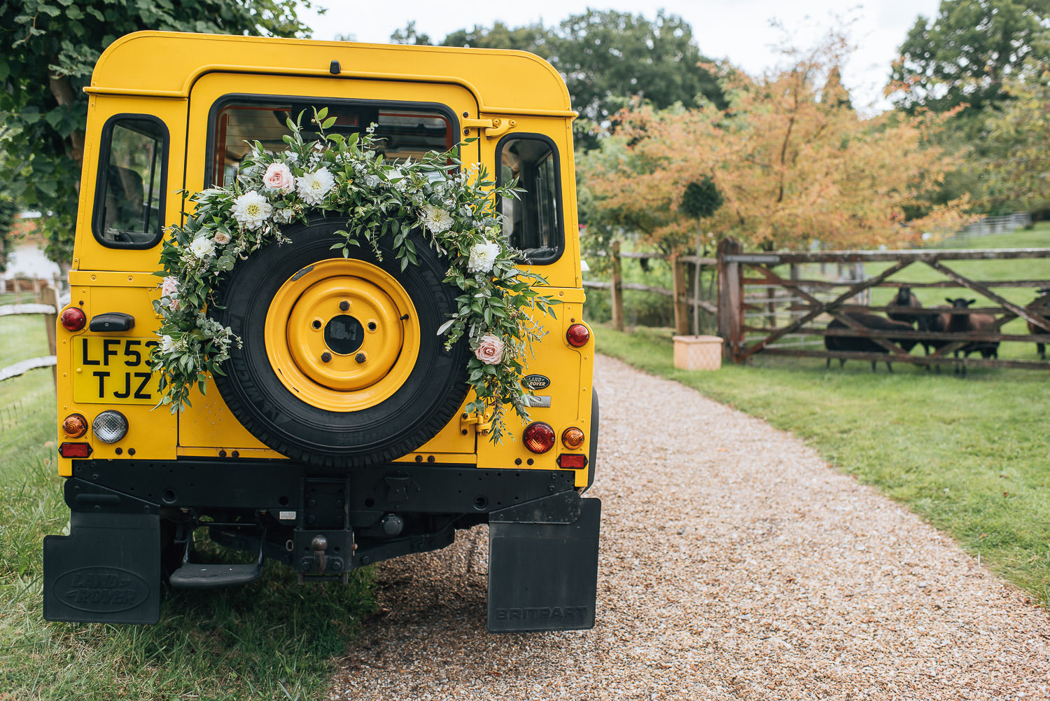wedding landcover sussex country wedding by creative and alternative london wedding photographer the shannons photography