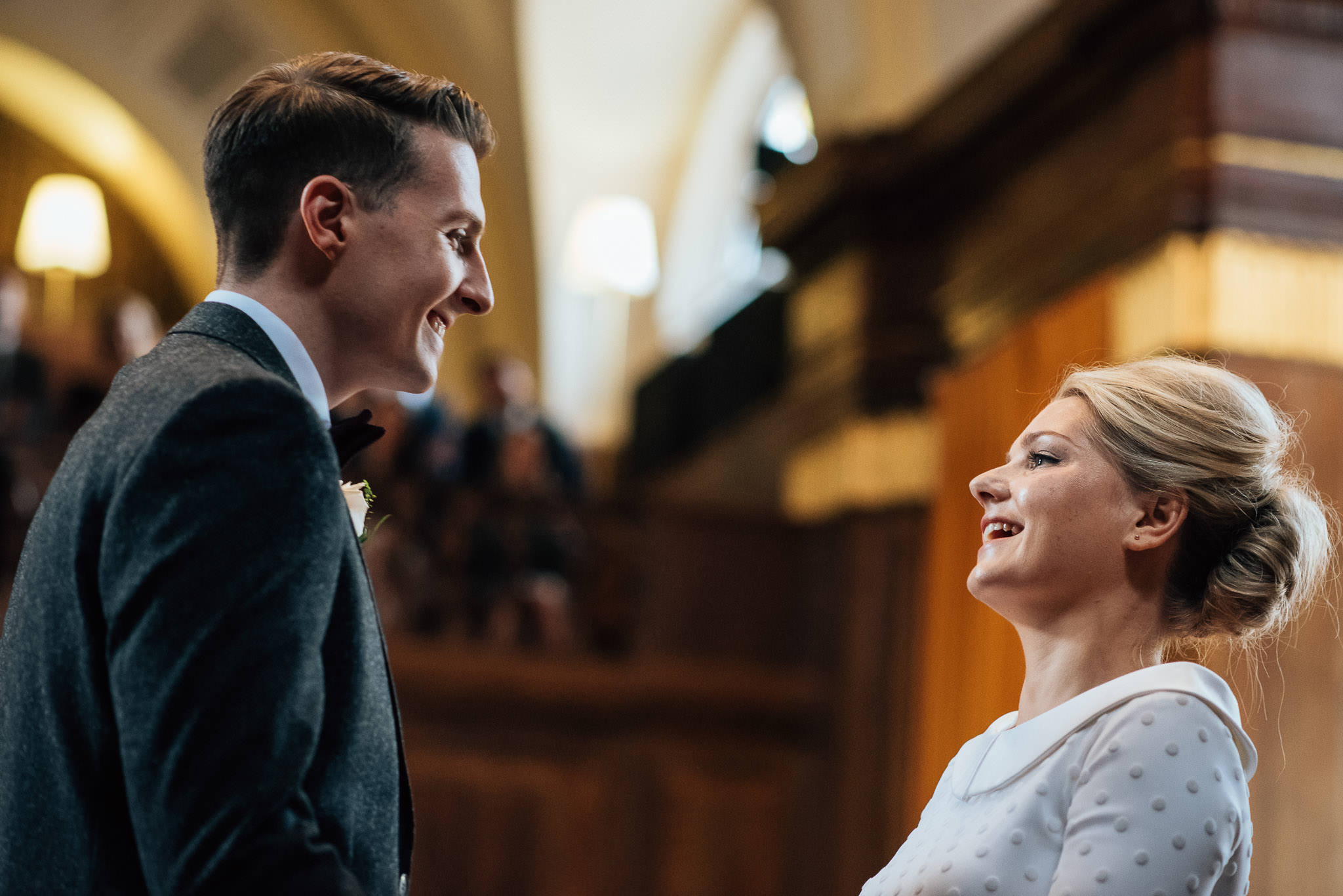 Bohemian bride in stoke newington town hall wedding by creative and alternative london wedding photographer the shannons photography