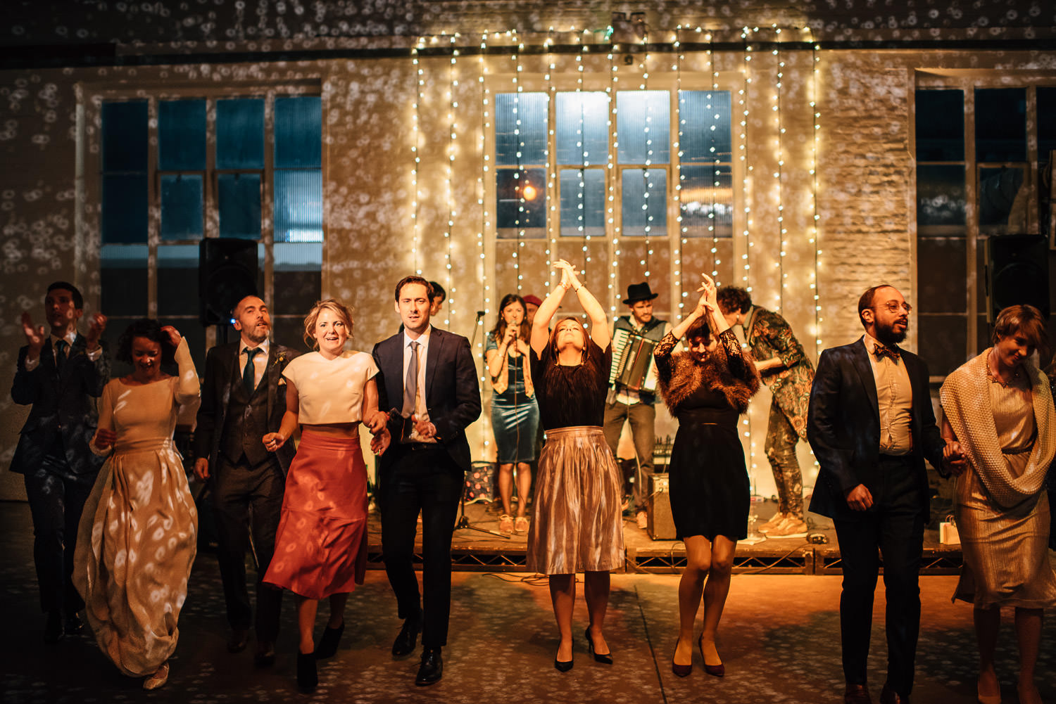 trinity buoy wharf dancing by creative and alternative london wedding photographer the shannons photography