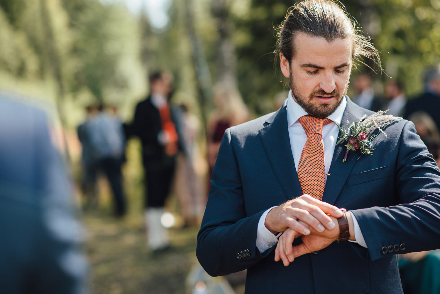 forest wedding oslo by creative and alternative norway wedding photographer the shannons photography