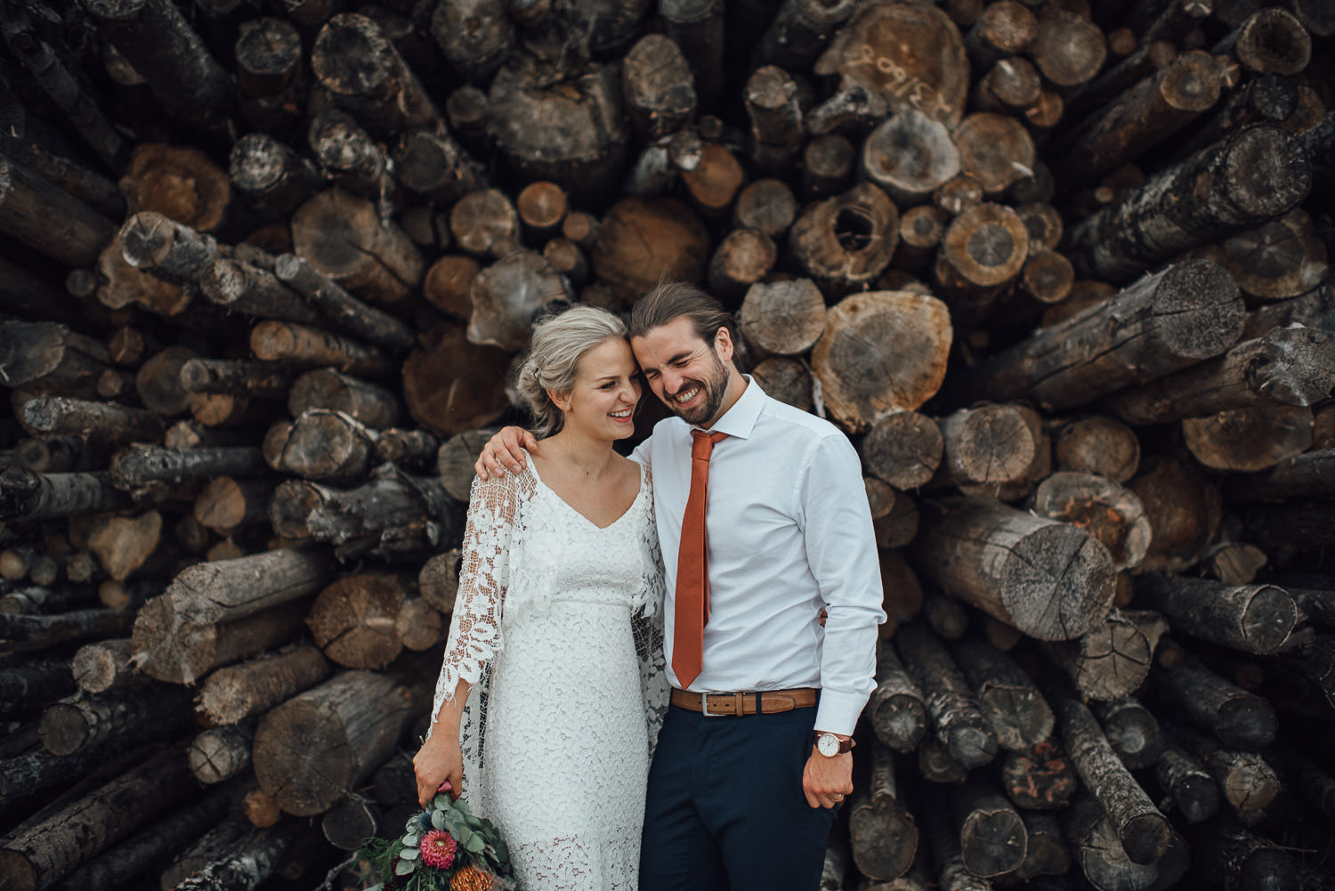 woodland outdoor festival wedding by creative and alternative london wedding photographer the shannons photography