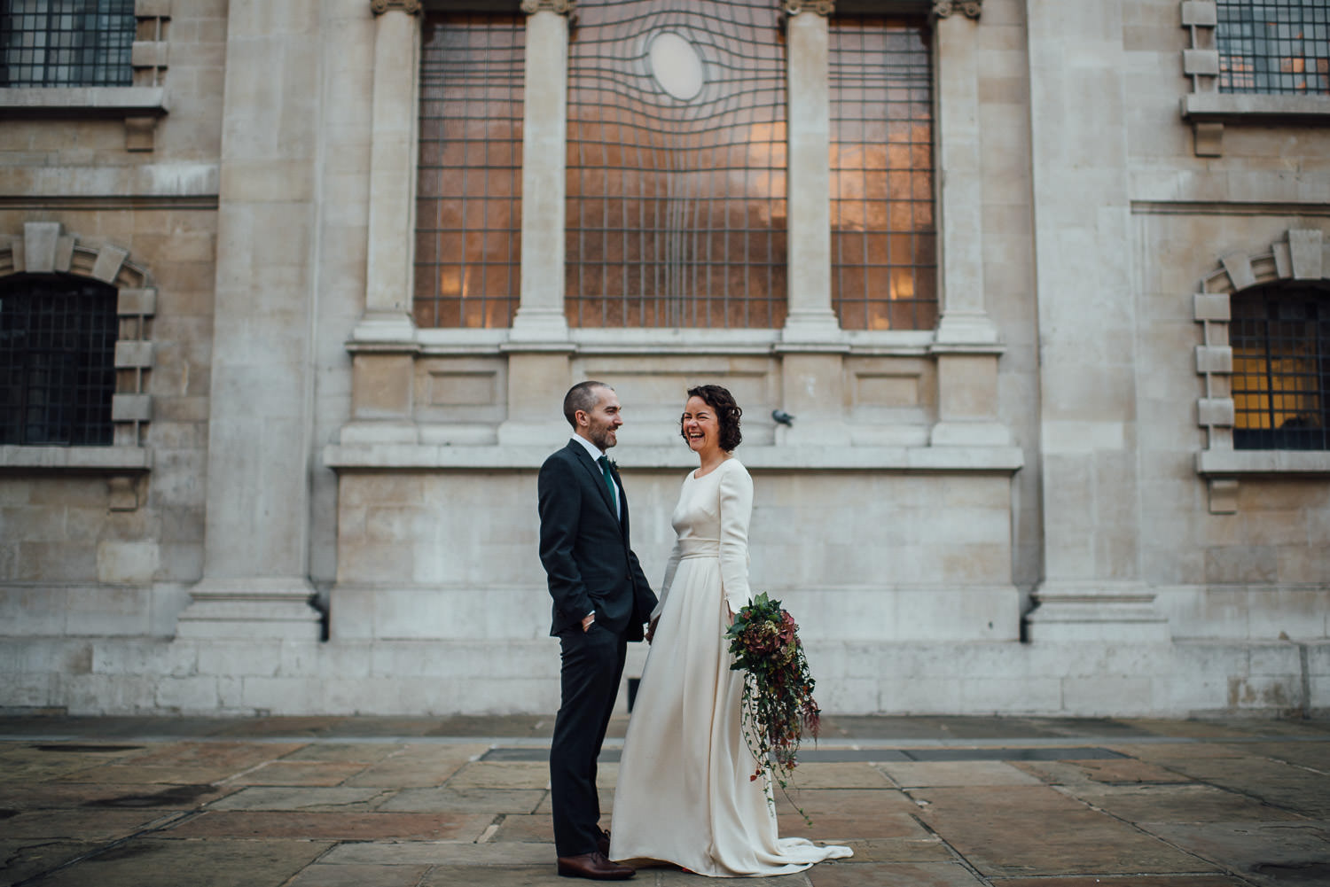 trinity buoy wharf wedding by creative and alternative london wedding photographer the shannons photography
