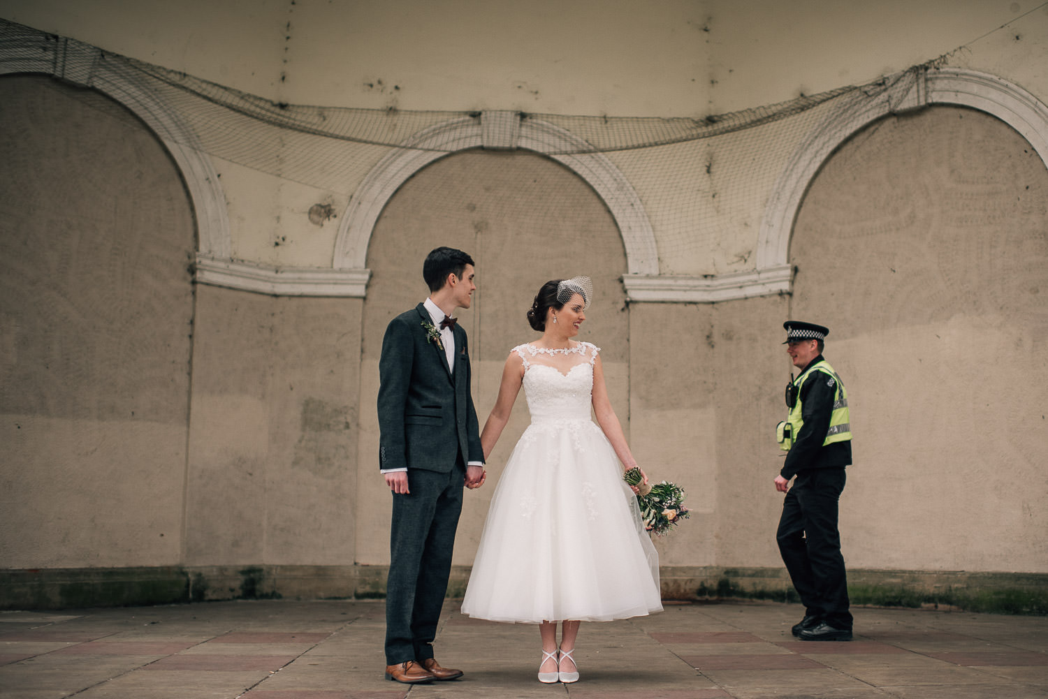 peckham wedding alternative by creative and alternative london wedding photographer the shannons photography