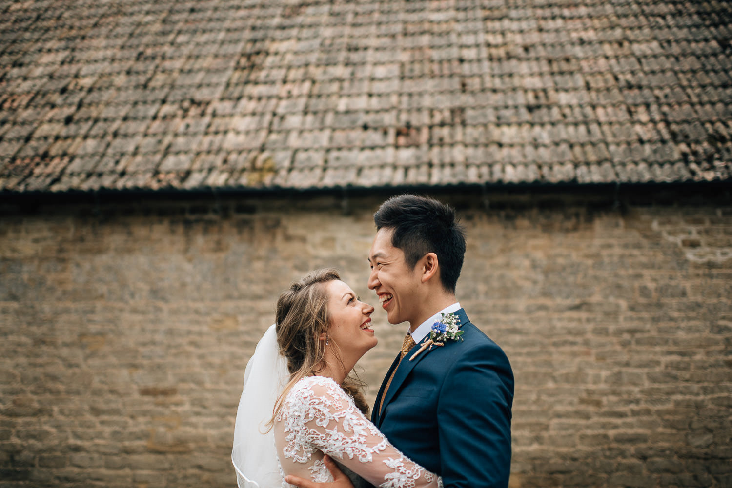 cotswold wedding cripps barn by creative and alternative london wedding photographer the shannons photography