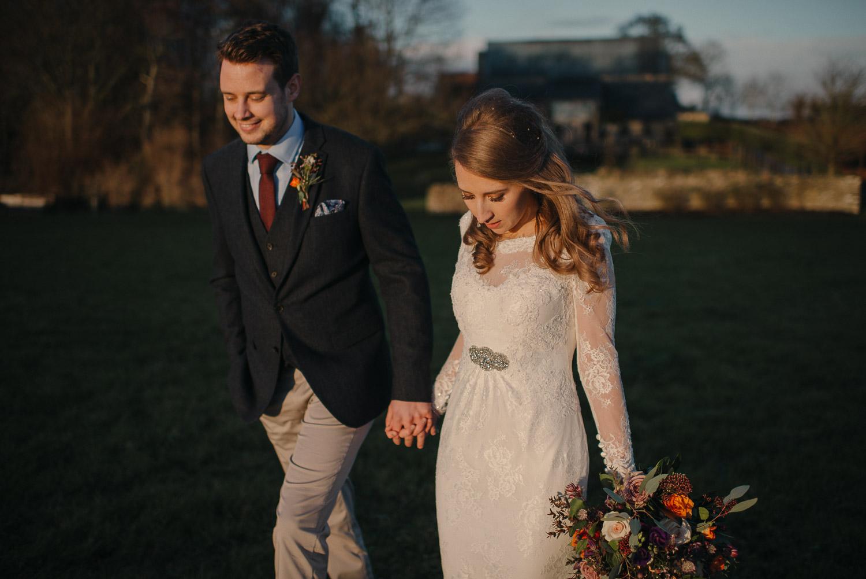cripps barn winter wedding by creative and alternative london wedding photographer the shannons photography