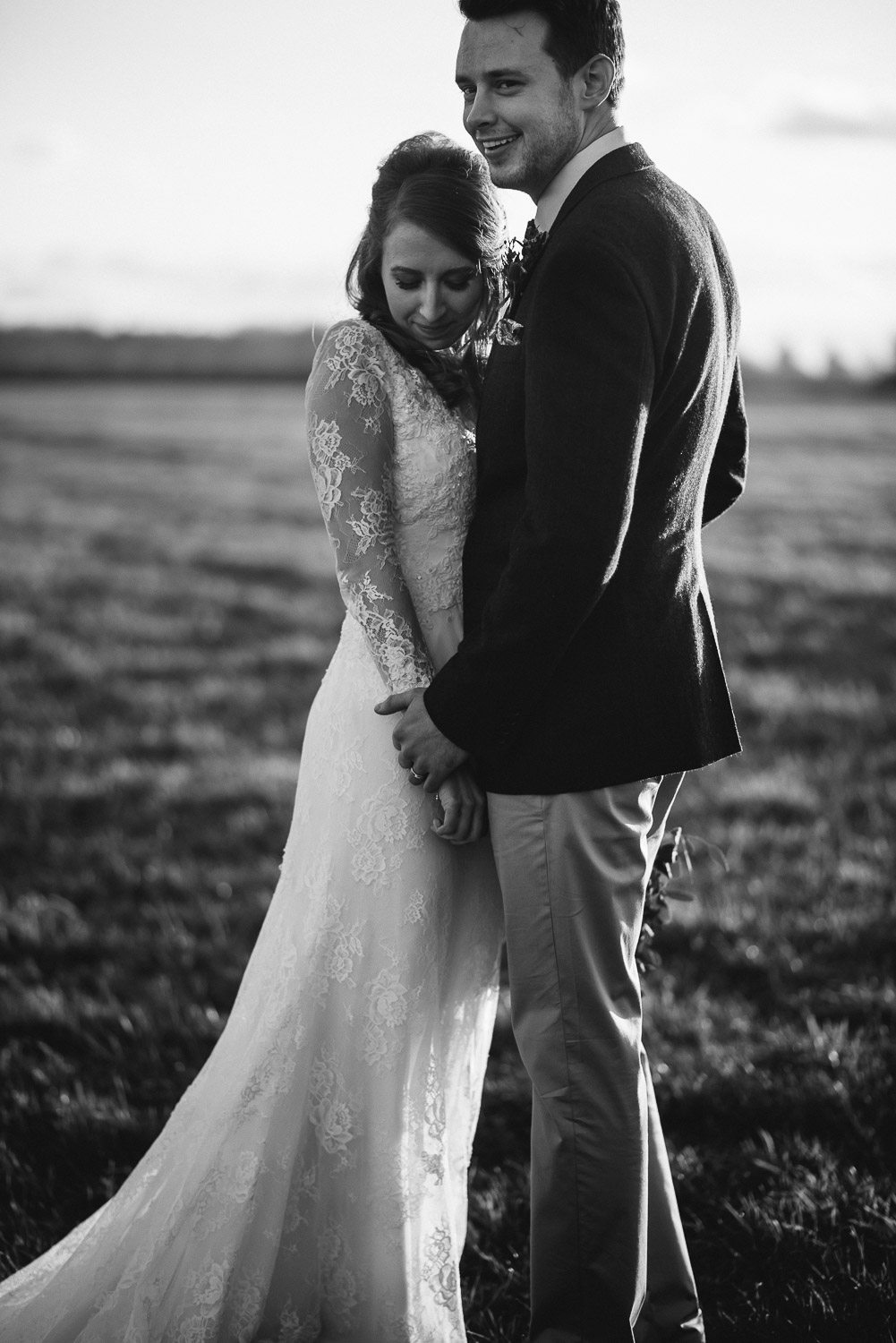 couple portraits in the cotswolds by creative and alternative london wedding photographer the shannons photography