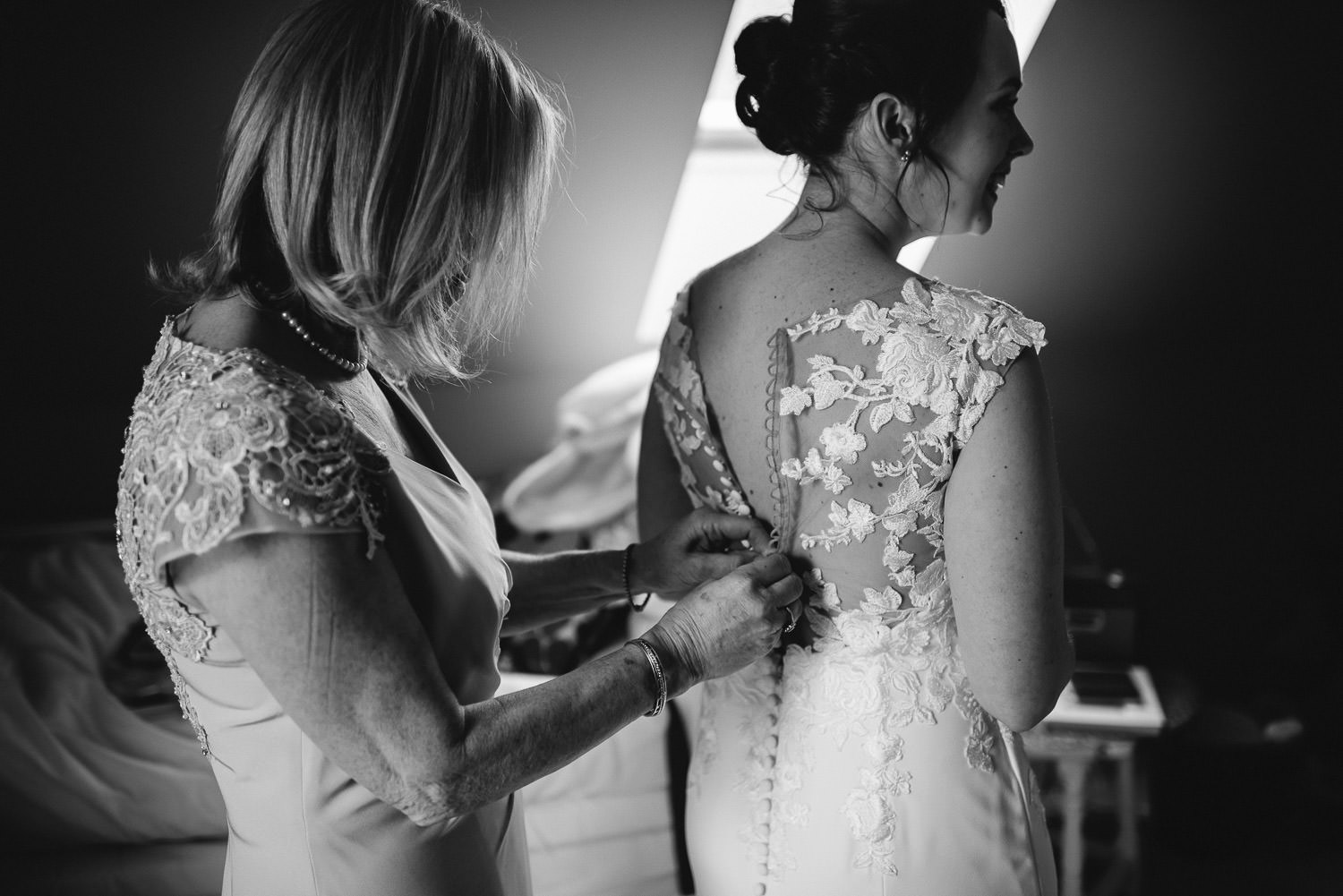 bride in pronovias dress at bath wedding by bath wedding photographer the shannons photography