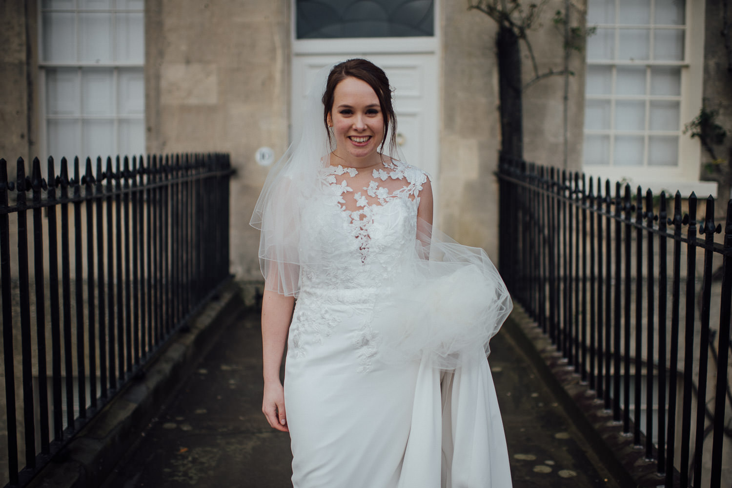 bath bride in pronovias dress bath wedding photographer the shannons photography