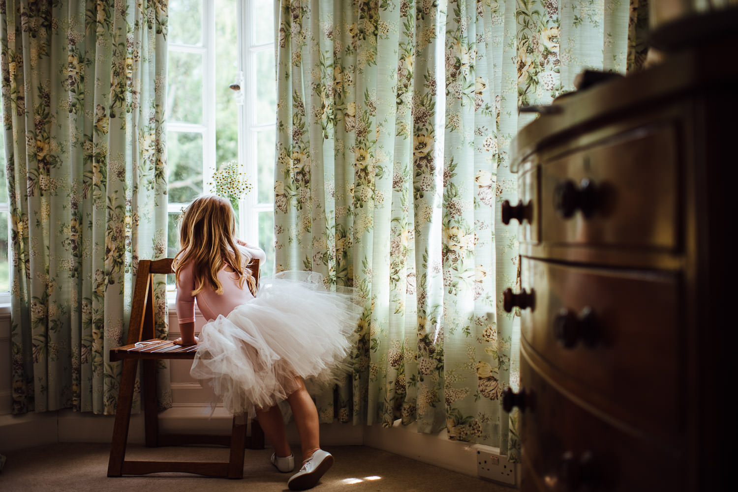 Wedding tutu in Barley Wood House Bristol Wedding by bristol wedding photographer the shannons photography