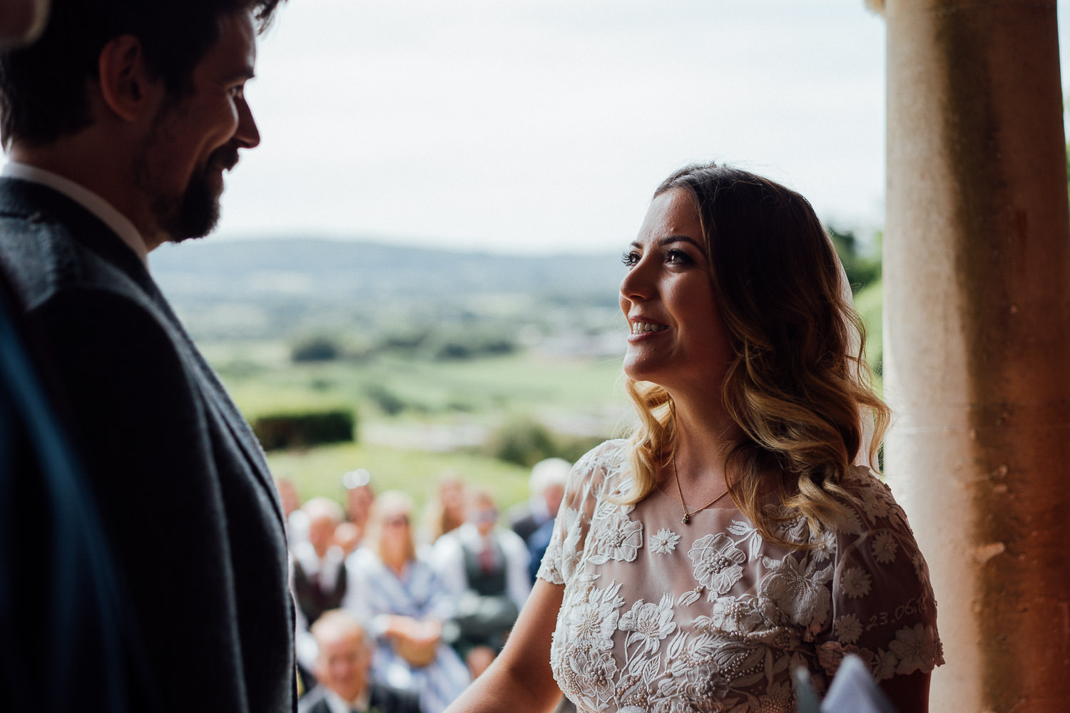 Humanist wedding ceremony in Barley Wood House Bristol Wedding by bristol wedding photographer the shannons photography