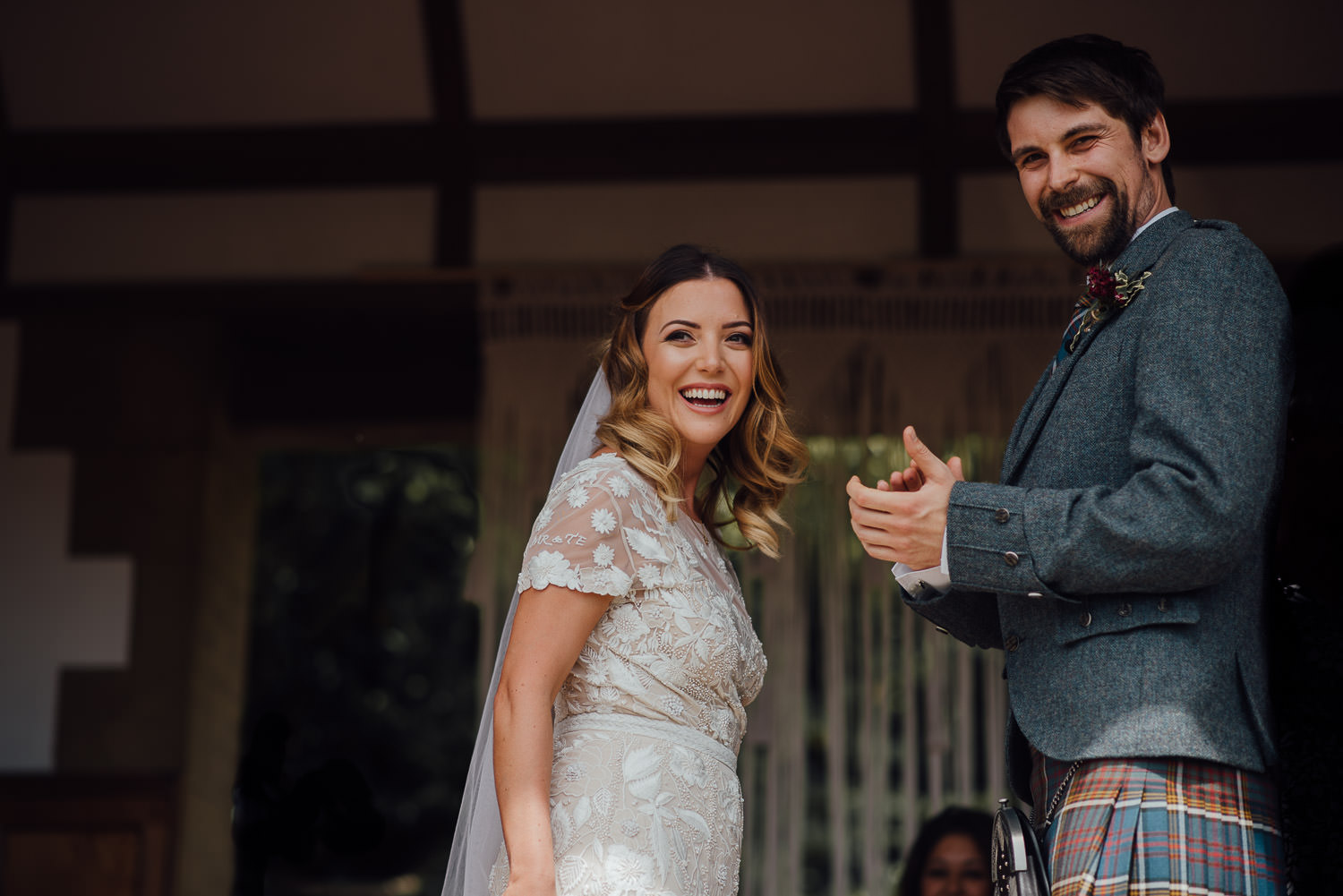 Cool outdoor wedding in Barley Wood House Bristol Wedding by bristol wedding photographer the shannons photography