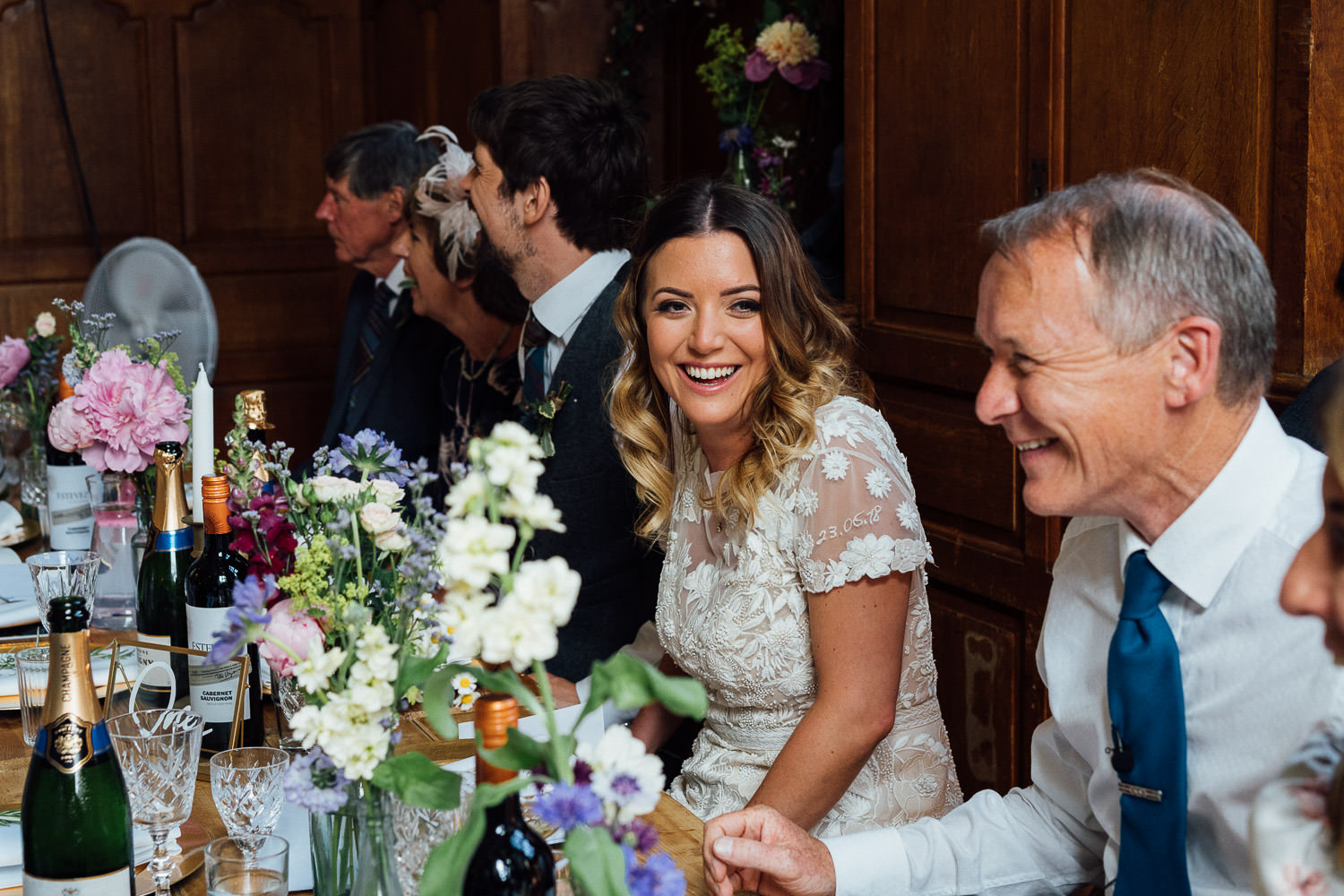 Funny speeches in Barley Wood House Bristol Wedding by bristol wedding photographer the shannons photography
