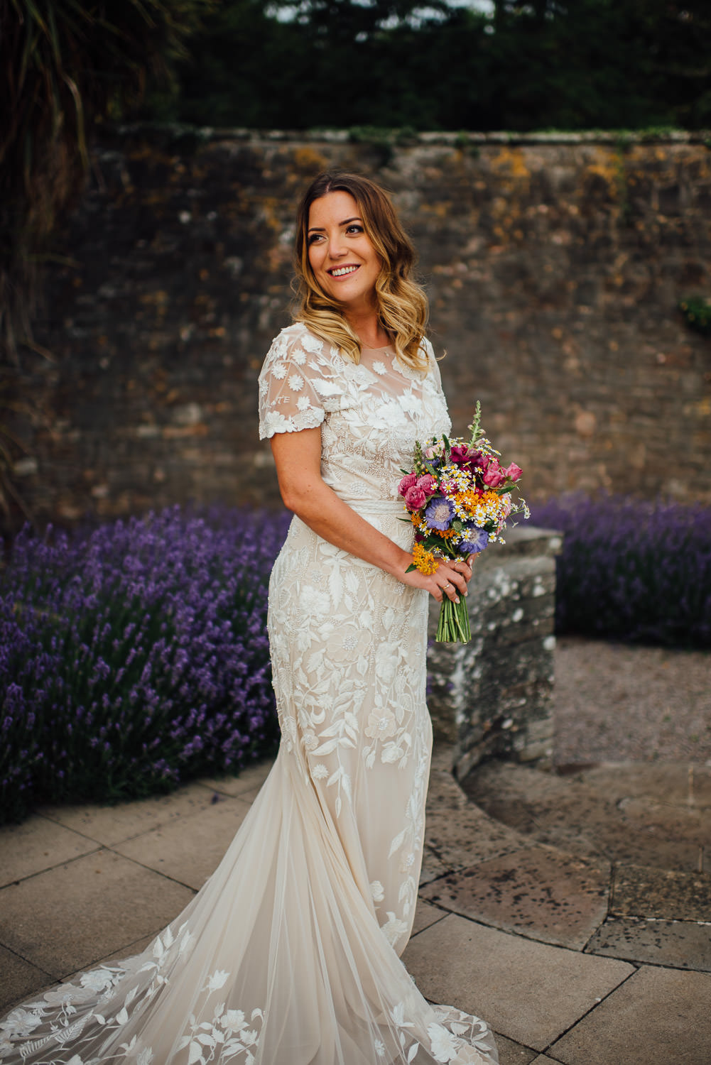 Bridal bouquet in Barley Wood House Bristol Wedding by bristol wedding photographer the shannons photography