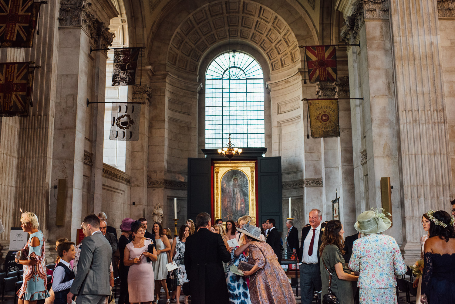 st pauls london wedding