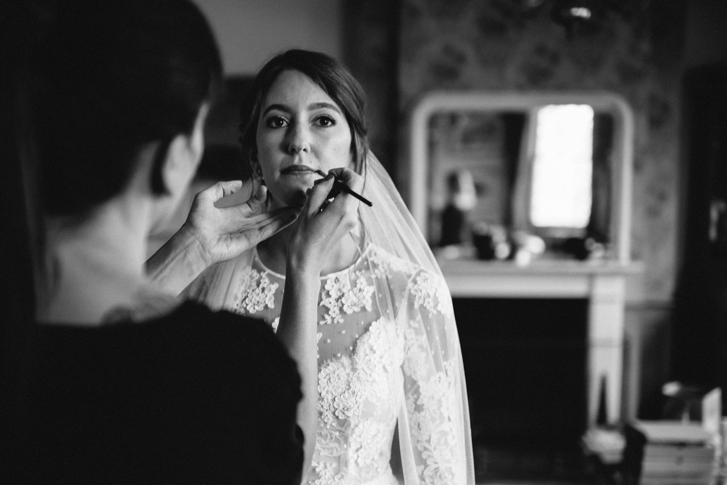 bridal makeup wilton's music hall wedding by london wedding photographer the shannons photography