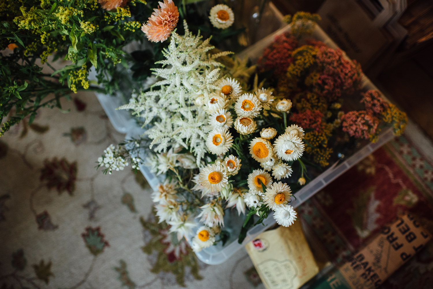 wedding flowers wilton's music hall wedding by london wedding photographer the shannons photography