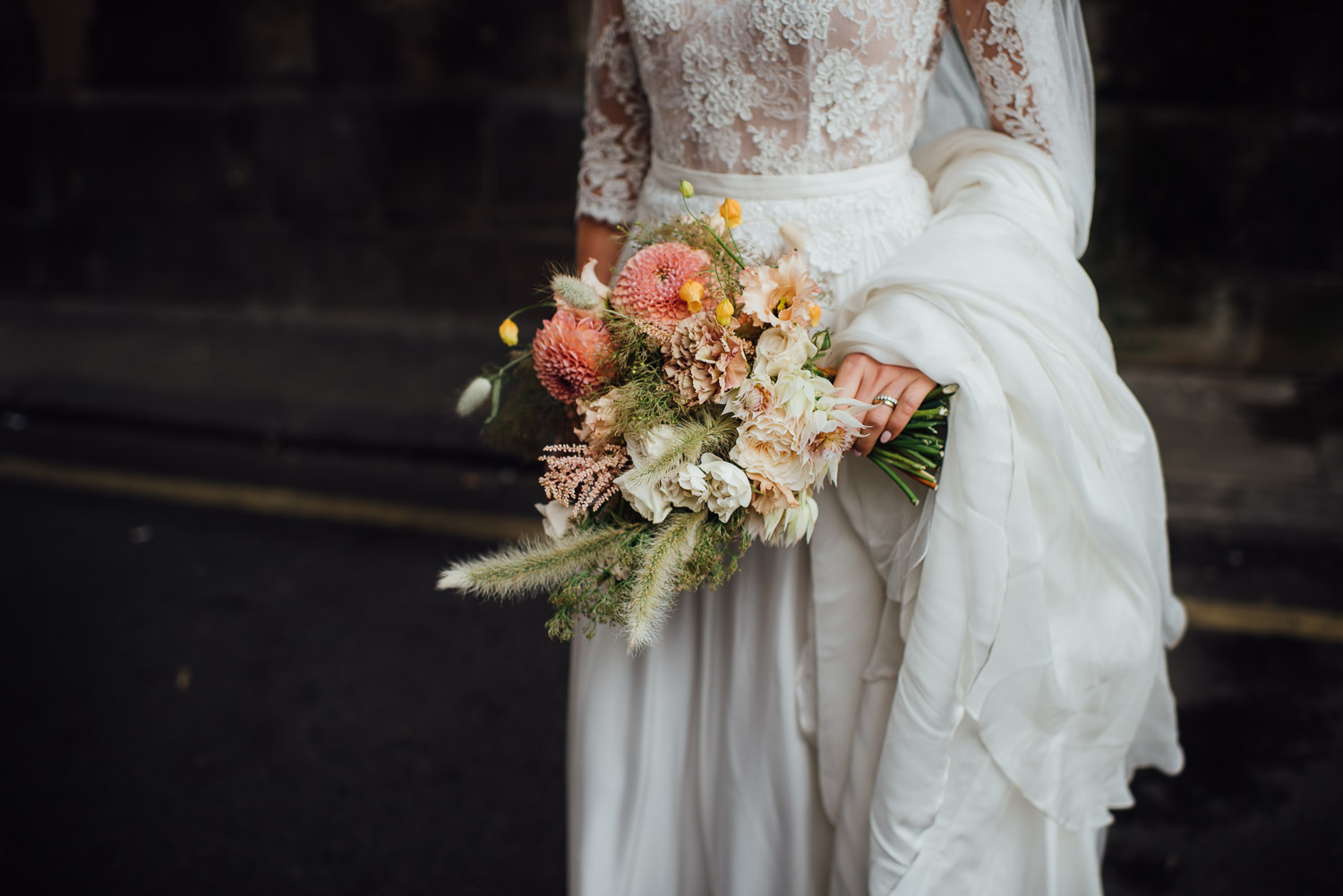 petalon bridal flowers wilton's music hall wedding by london wedding photographer the shannons photography