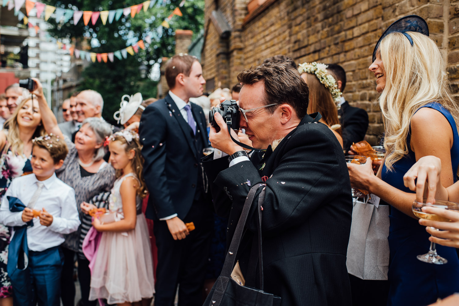 cool london wedding photographer