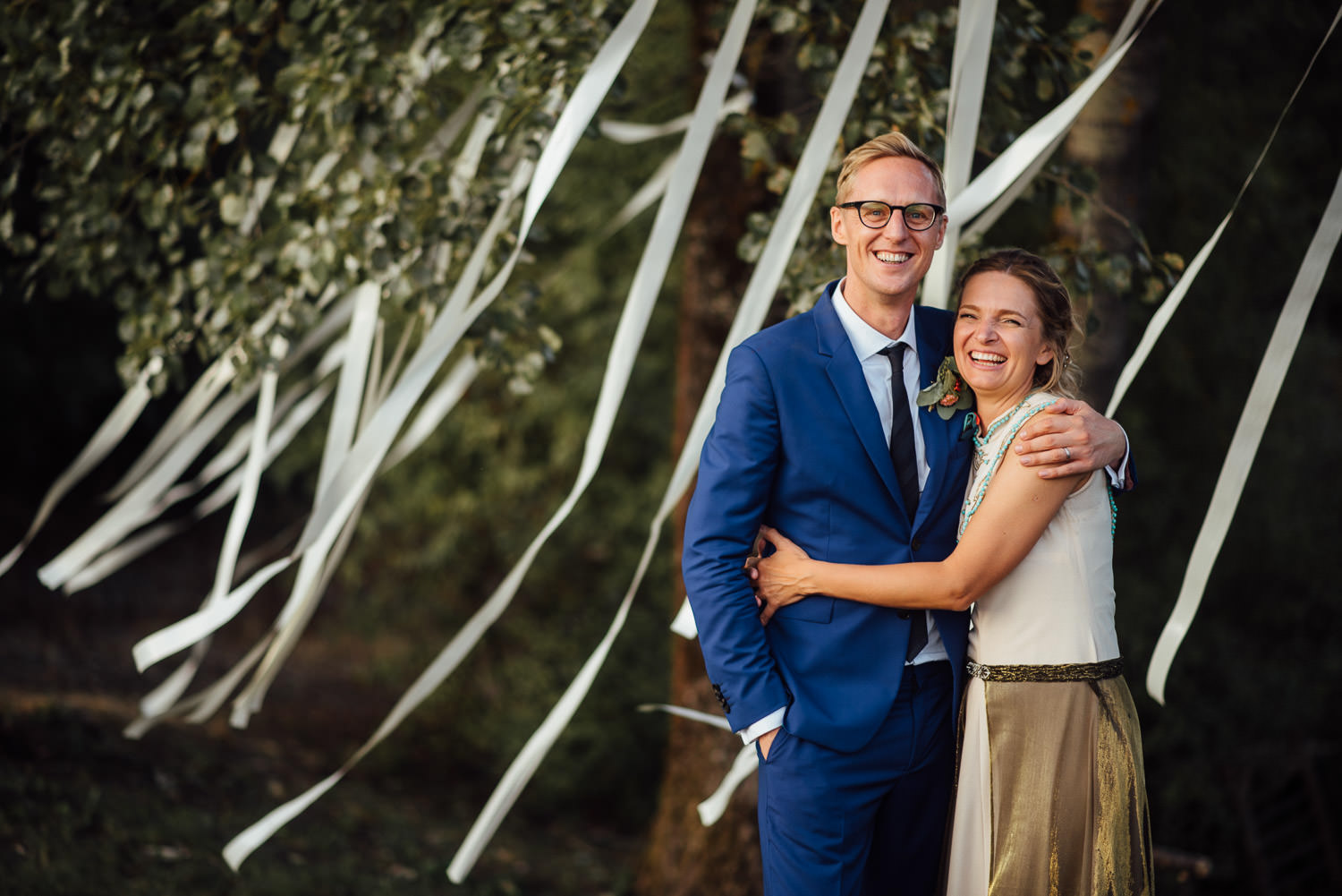 cool wedding decorations in Norwegian Barn Wedding by norway destination wedding photographer the shannons photography