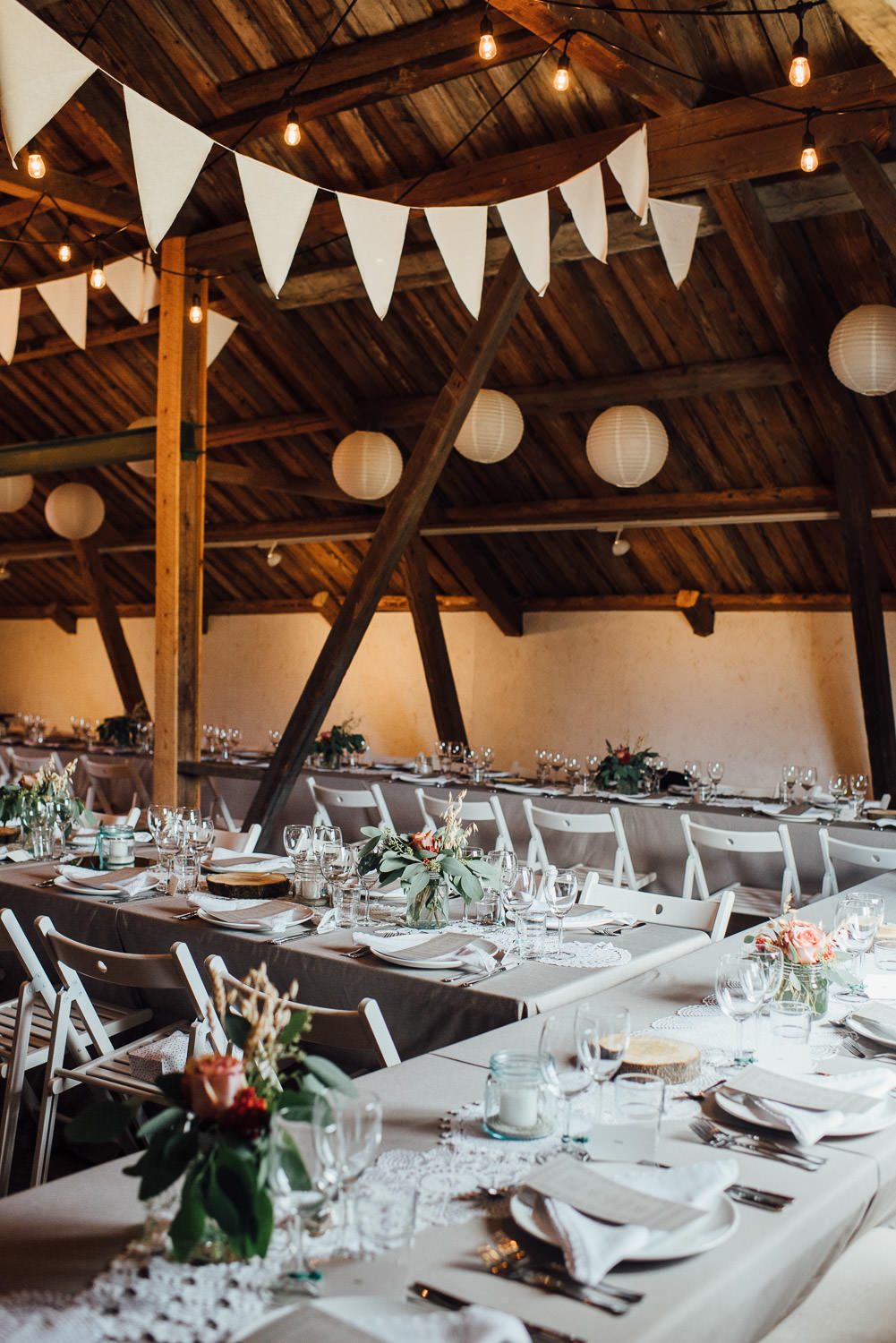 cool barn wedding details in Norwegian Barn Wedding by norway destination wedding photographer the shannons photography