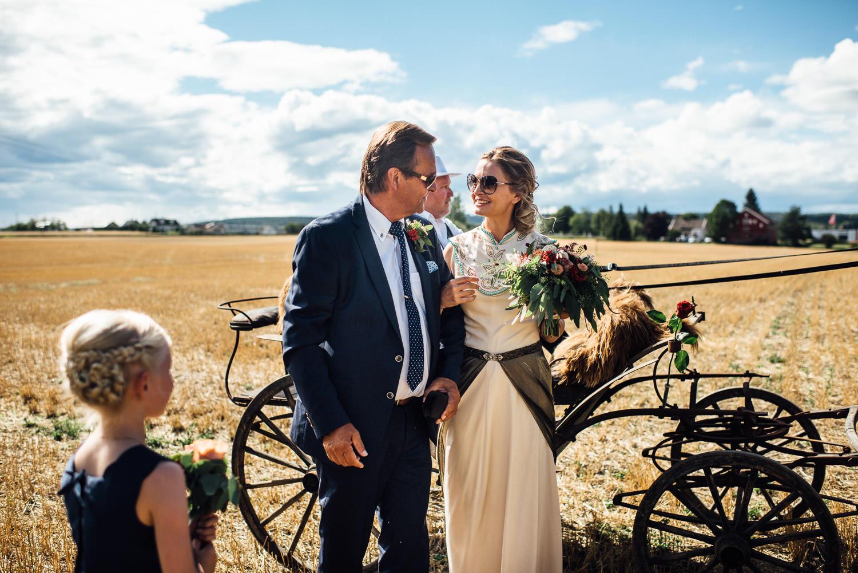 cool scandi bride
