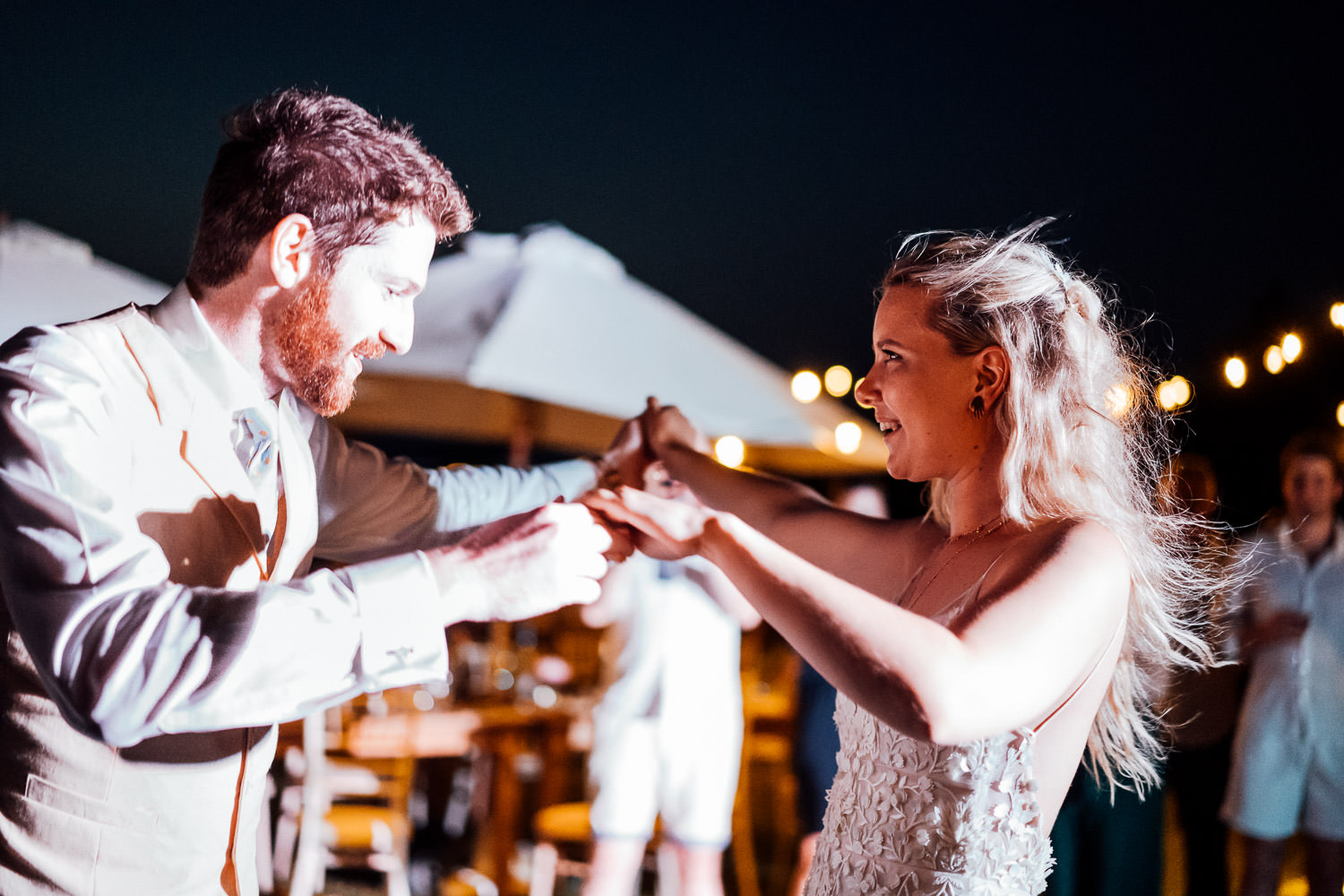 first dance in chateau de lacoste wedding