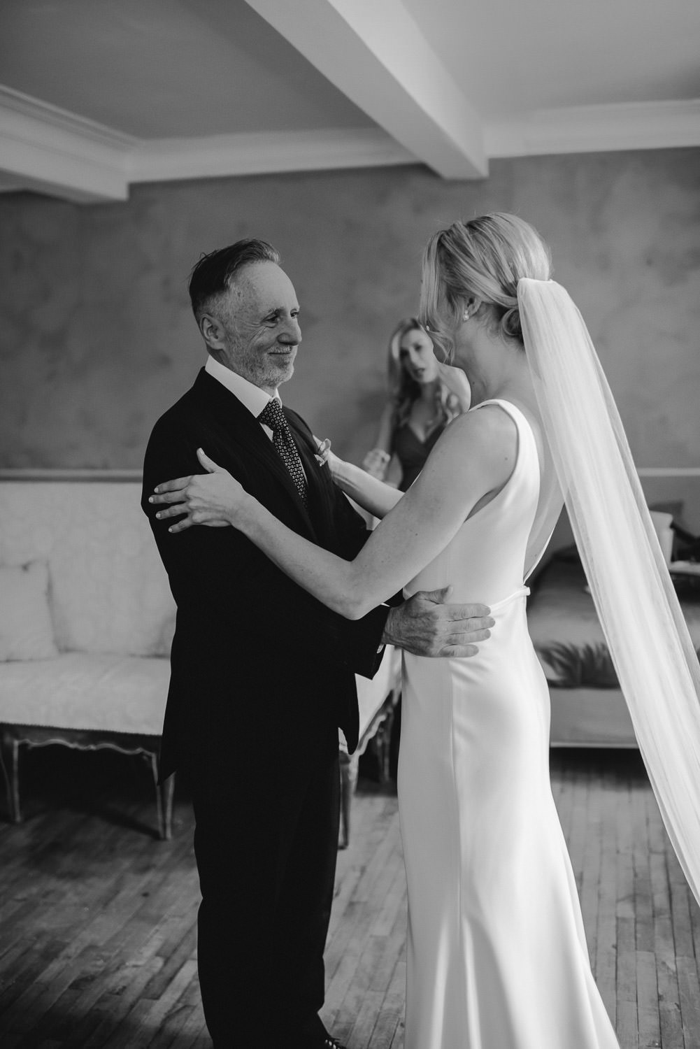 father of the bride in Domaine du Beyssac Wedding