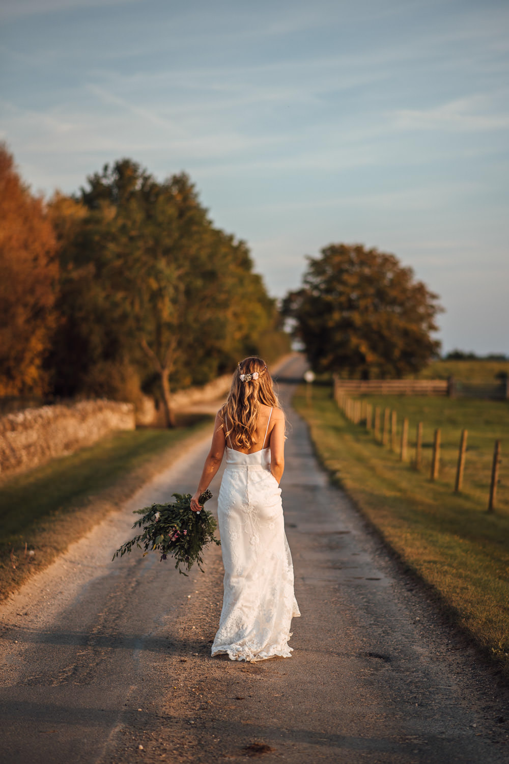 bride in halfpenny london wedding dress by the shannons photography