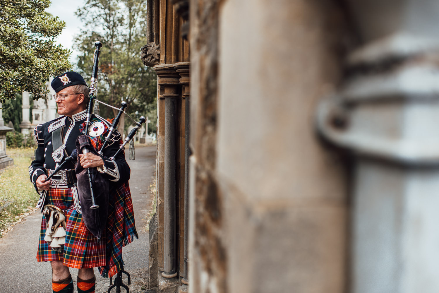 scottish wedding bagpipes in london wedding