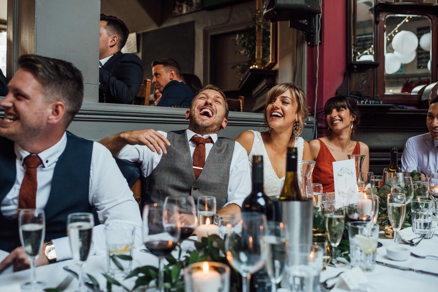 stoke newington pub documentary london wedding photographer