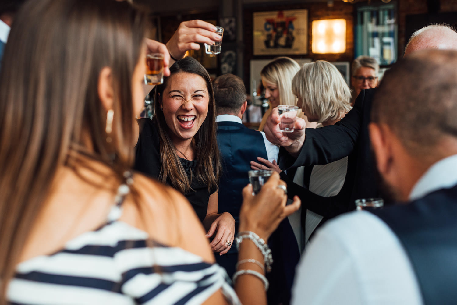 hoxton pub wedding photographer