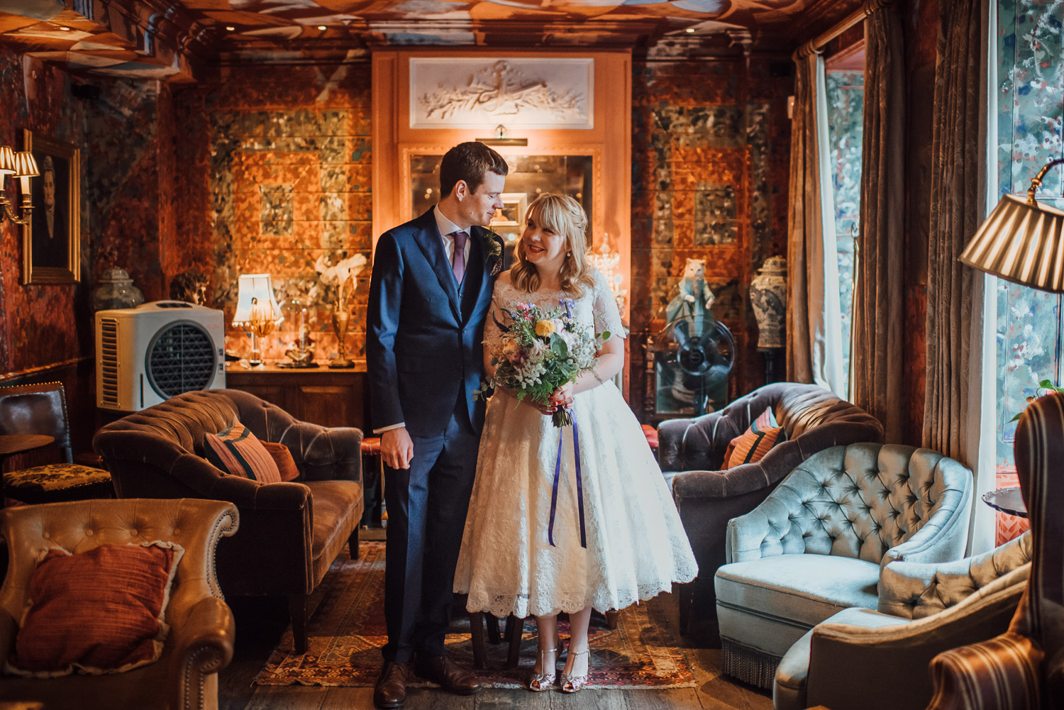 the barbican london wedding photographer