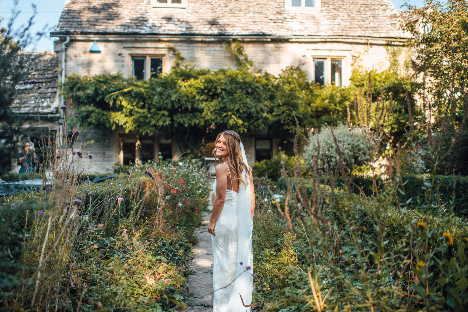 bohemian wedding dress by halfpenny london