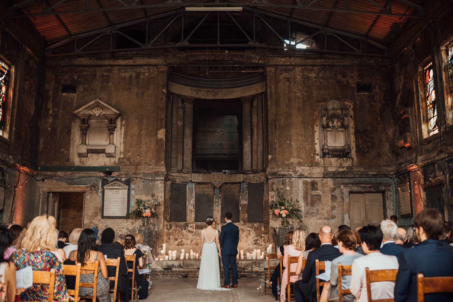 the asylum chapel peckham london wedding photographer