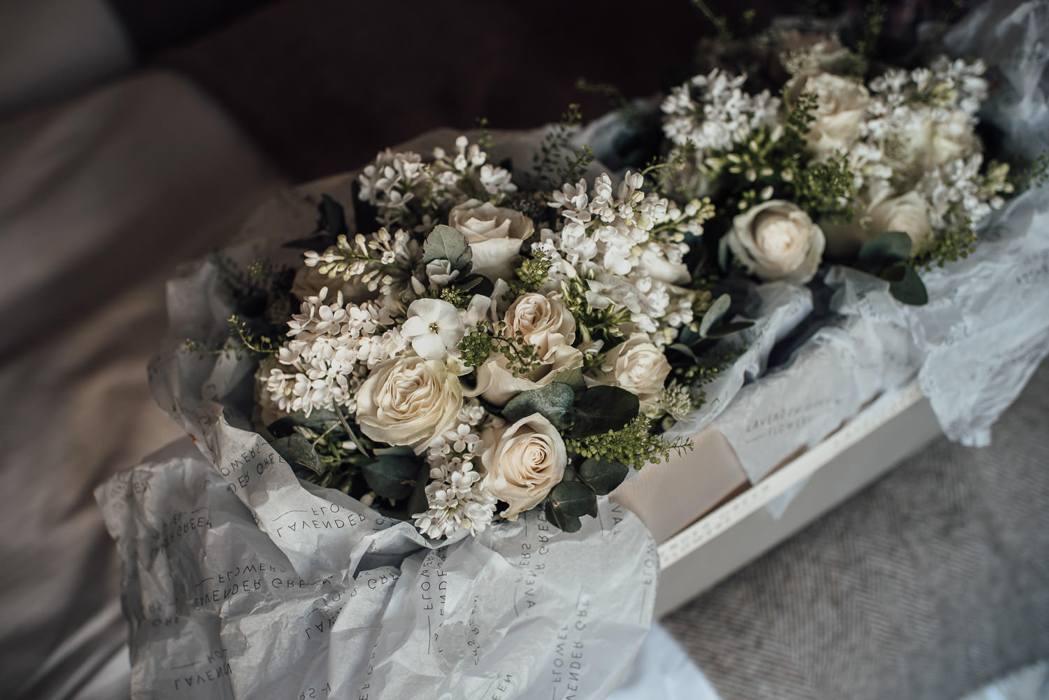 cool wedding flowers by london wedding photographer the shannons photography