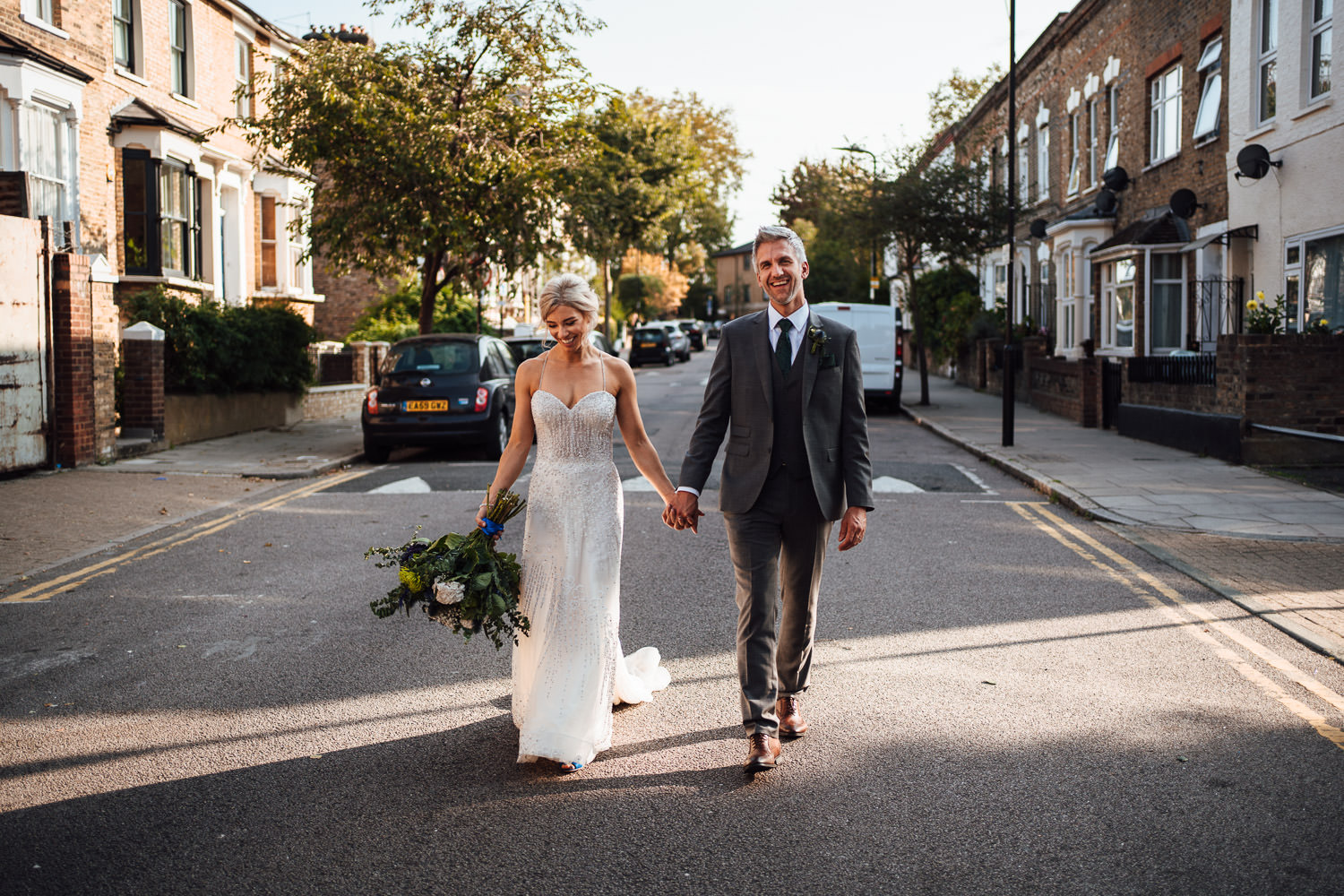 the roost pub dalston wedding by london wedding photographer the shannons photography