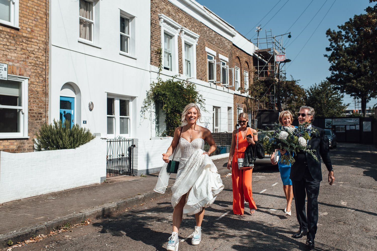 cool london wedding by creative wedding photographer the shannons photography