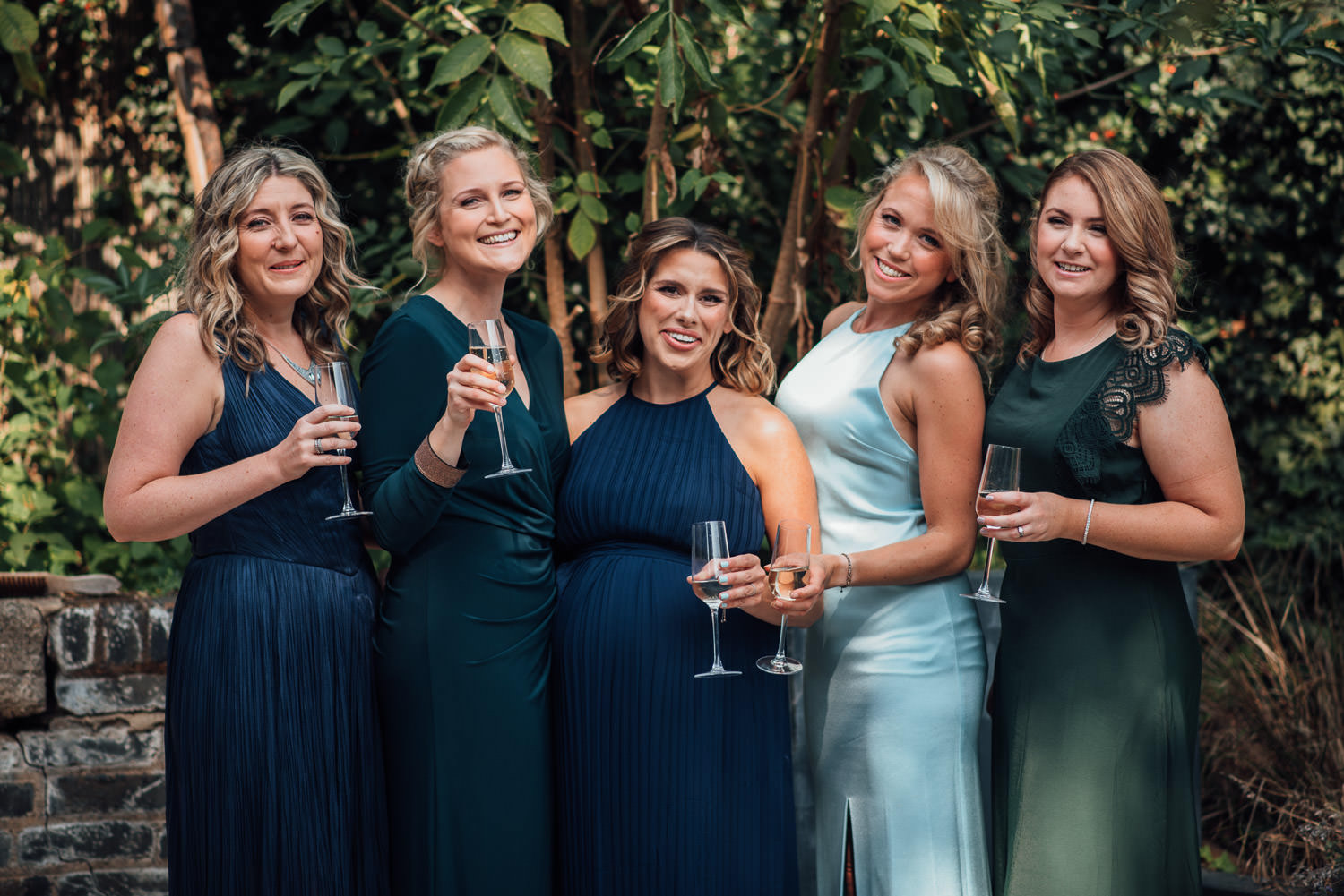 bridesmaids in the roost pub dalston wedding