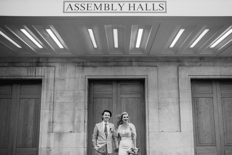 hackney town hall vintage micro wedding