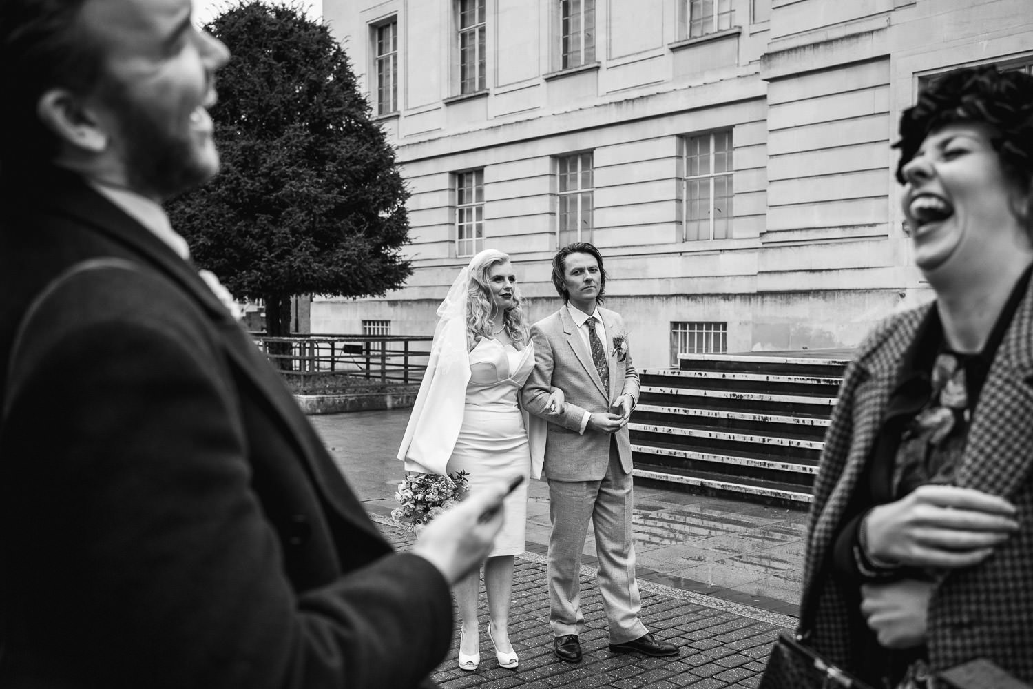 documentary street wedding photography