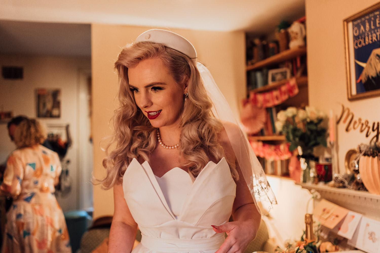 20s vintage bridal dress