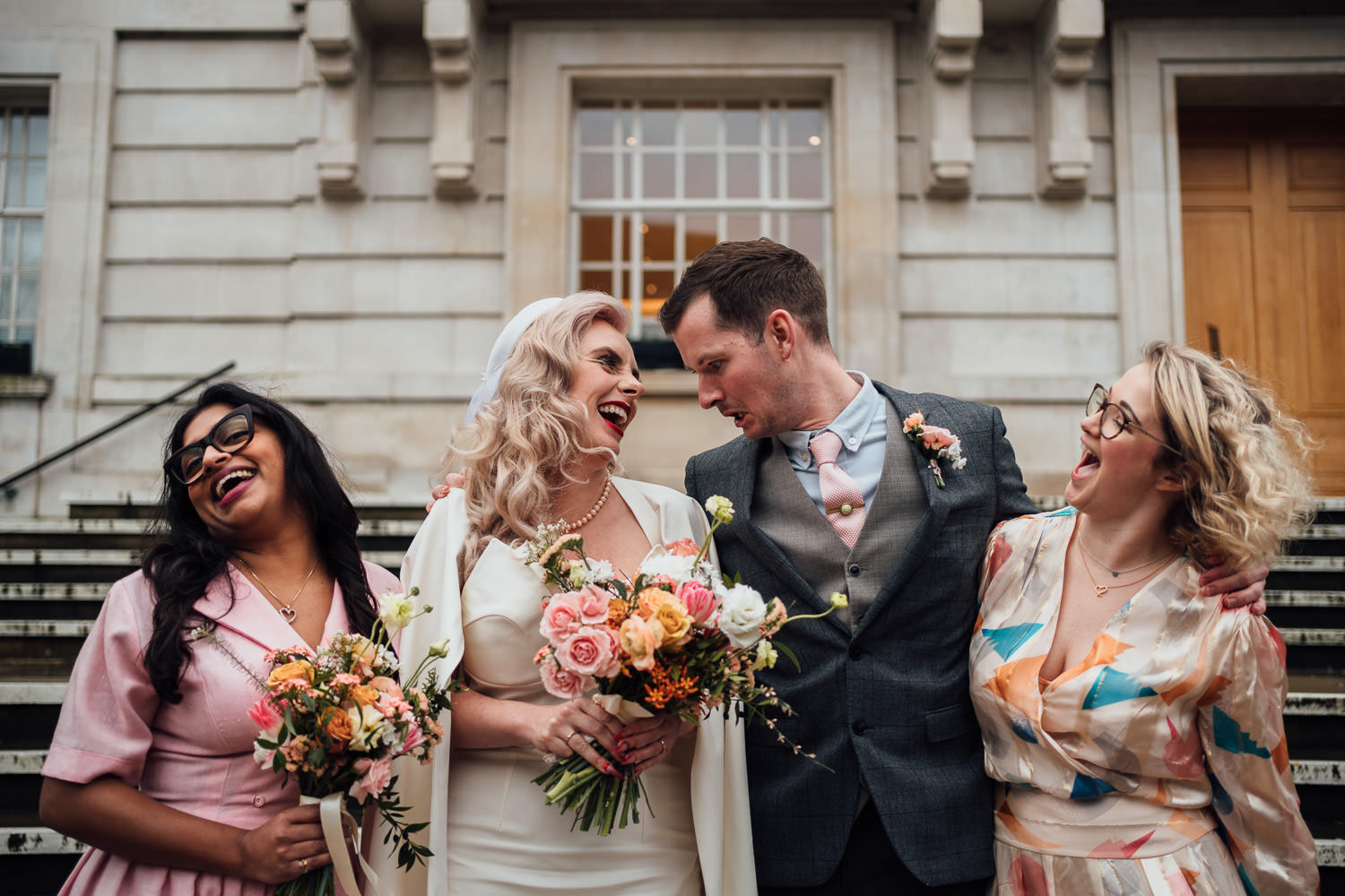 london elopement wedding at hackney town hall
